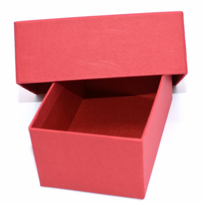 5☆好評 アクセサリー用箱小物入れ用箱紙製 5☆好評 ギフトボックス 箱赤色 中も赤色でおしゃれ