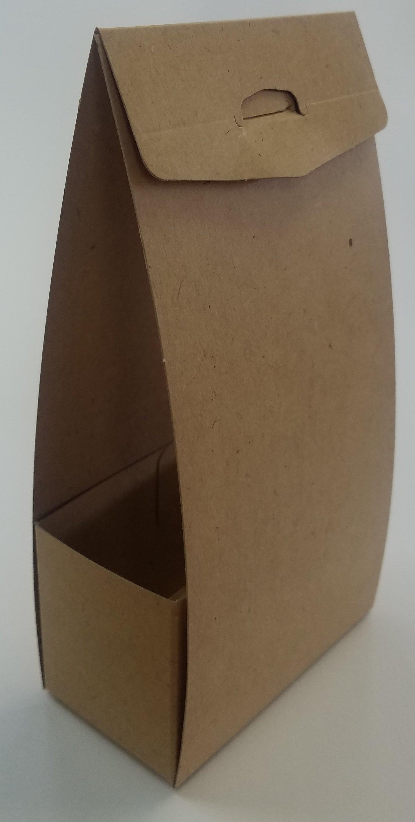 高品質 実物 組み立てパッケージ150枚セット 組み立てパッケージさらにお得な150枚セットお菓子等小物入れ用紙製茶色@50