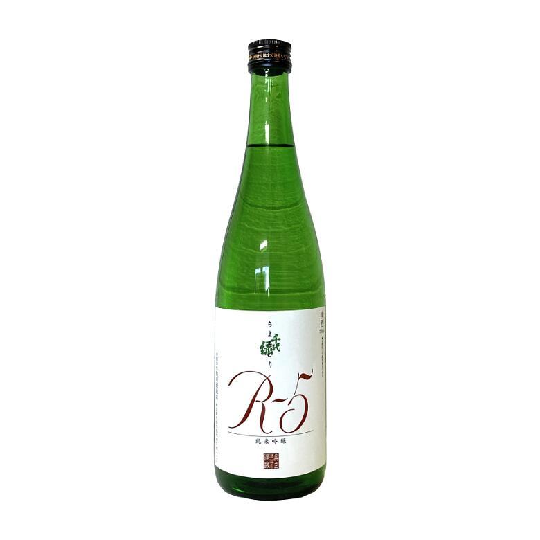 キレのあるフルーティーな飲み口の純米吟醸 千代緑 純米吟醸R-5 720ml 日本酒 お酒 ギフト 大人気 プレゼント 贈り物 激安 秋田