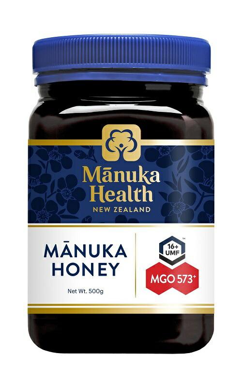 マヌカハニー 富永貿易 マヌカヘルス MGO573 UMF16 500g 当店は最高な サービスを提供します ニュージーランド産 春の新作シューズ満載 蜂蜜 ハチミツ 送料無料 UR