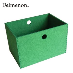 【増税による値上げはしていません】【送料無料】【フェルメノン】HOZO BOX(L) グリーン 5個セット 【フェルト 収納 雑貨】【代引不可】【LI】