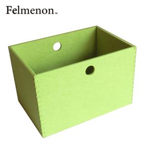 【増税による値上げはしていません】【送料無料】【フェルメノン】HOZO BOX(L) ライトグリーン 5個セット 【フェルト 収納 雑貨】【代引不可】【LI】