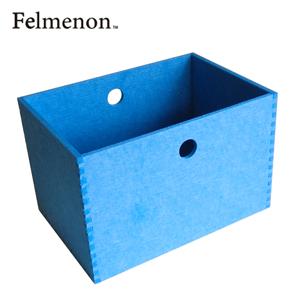 【増税による値上げはしていません】【送料無料】【フェルメノン】HOZO BOX(L) ブルー 5個セット 【フェルト 収納 雑貨】【代引不可】【LI】