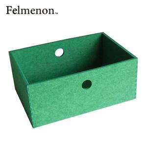 【増税による値上げはしていません】【送料無料】【フェルメノン】HOZO BOX(M) グリーン 5個セット 【フェルト 収納 雑貨】【代引不可】【LI】