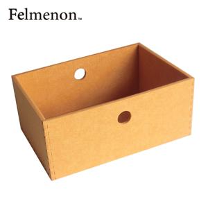 【送料無料】【フェルメノン】HOZO BOX(M) オレンジ 5個セット 【フェルト 収納 雑貨】【代引不可】【LI】