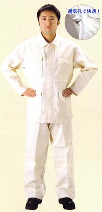 【送料無料】【防炎綿製品】綿プロバン 防炎服【上着】NB-110 サイズ:L ※代引き不可※【NB】