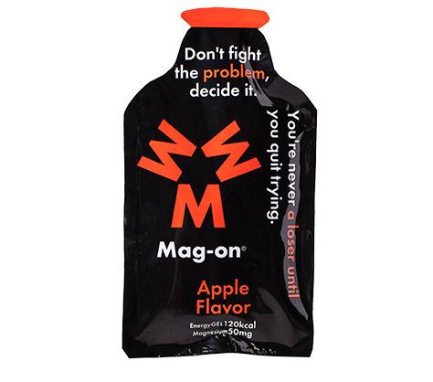 マグオン エナジージェル(アップルフレーバー) Mag-on(41g×72個) 水溶性マグネシウム サプリメント 必須ミネラル トレーニング 持久走 4589941520106【HS】