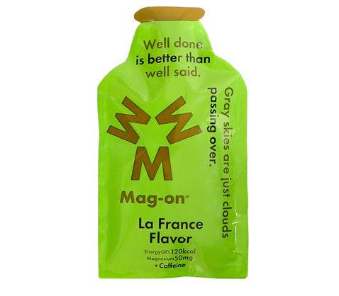 マグオン エナジージェル(ラフランスフレーバー) Mag-on(41g×72個) 水溶性マグネシウム サプリメント 必須ミネラル トレーニング 持久走 4589941520144【HS】
