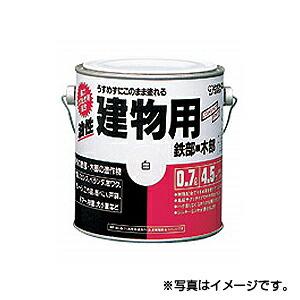 【サンデーペイント】油性建物用 0.7L 黄色 1ケース(6個入り) ※代引き不可商品※【K】
