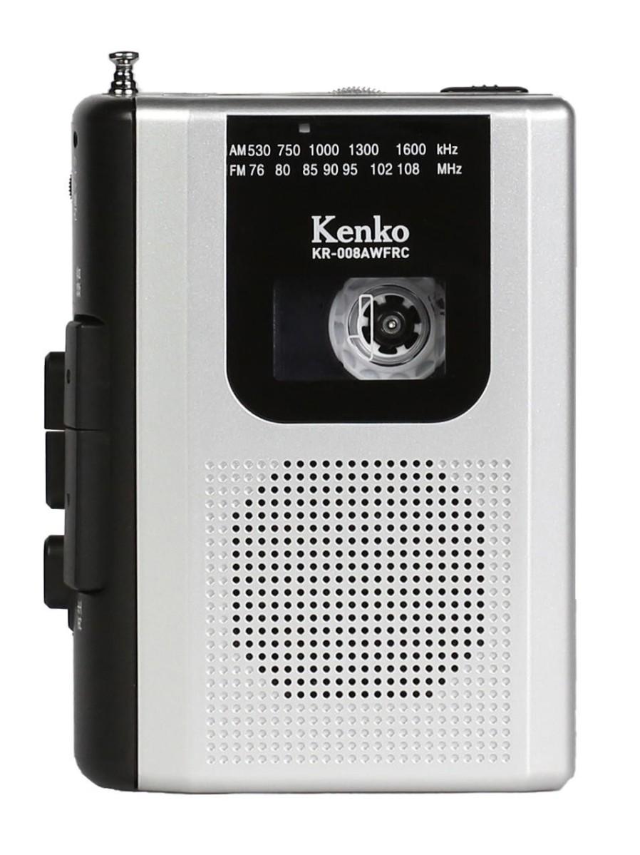 センター商事 AM/FM ラジオカセットレコーダー KR-008AWFRC【CS】