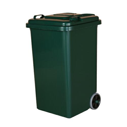 ダルトン DULTON<メーカー直送 同梱・代引き不可>【送料無料】PLASTIC TRASH CAN 65L GREEN【LI】