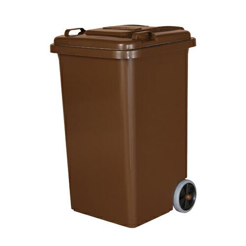 ダルトン DULTON<メーカー直送 同梱・代引き不可>【送料無料】PLASTIC TRASH CAN 65L BROWN【LI】