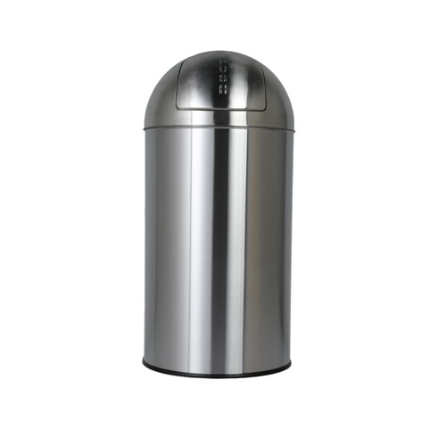 ダルトン DULTON<メーカー直送 同梱・代引き不可>【送料無料】DUST BIN SATIN FINISHED 40L【LI】