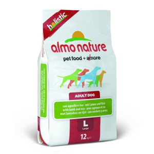 【PET】【送料無料】※納期約1~2週間※アルモネイチャー【ドッグ】ホリスティックドライフード 大型犬用 ラム 12kg JAN:8001154122251【Almo Nature】【DRY】【T】