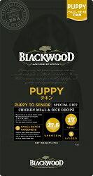 【PET】【送料無料】★数量限定おまけ付★ ブラックウッド PUPPY パピー チキン 20kg 全犬種 離乳後~老齢期 JAN:4562210501006【B】