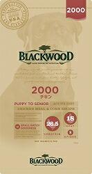【PET】【送料無料】★数量限定おまけ付★ ブラックウッド 2000 チキン 20kg 全犬種 離乳後~老齢期 JAN:4562210501020【B】