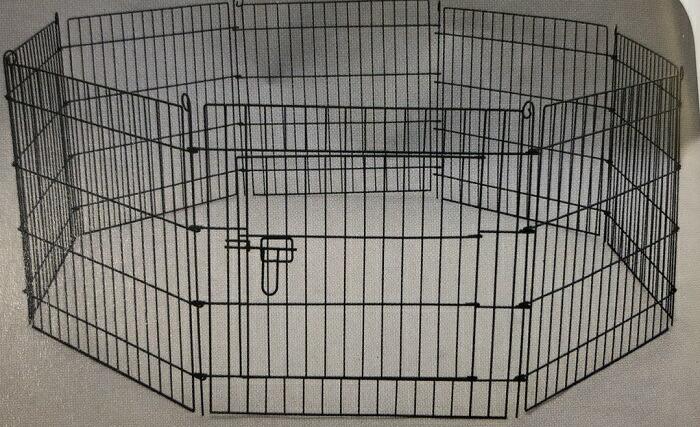 犬 ペットサークル L ケージ 8面 高さ91.5cm 小型犬~中型犬 ゲージ 折りたたみ ペットフェンス YD008S-3 室内・屋外 組み立て簡単 送料無料