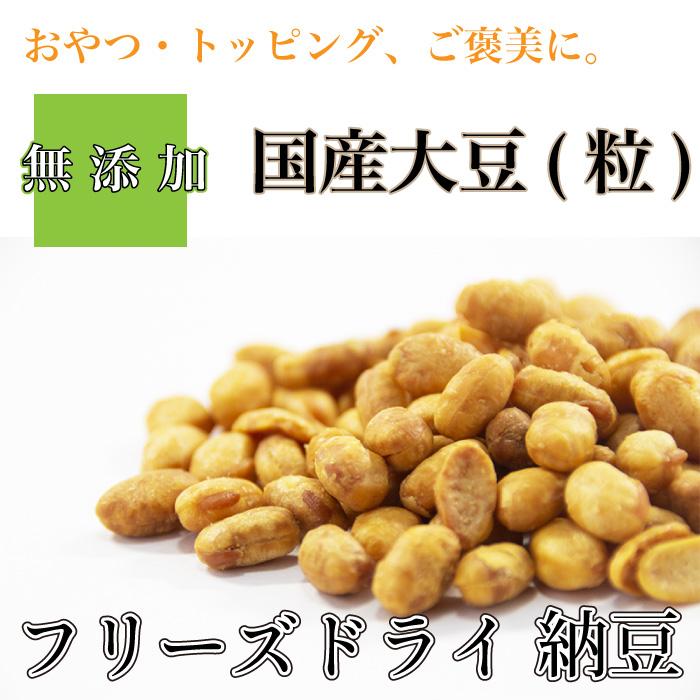 犬 おやつ 納豆 フリーズドライ 1kg ブリーダー 犬 DOG 国産大豆 なっとう菌 無添加 送料無料【DBP】
