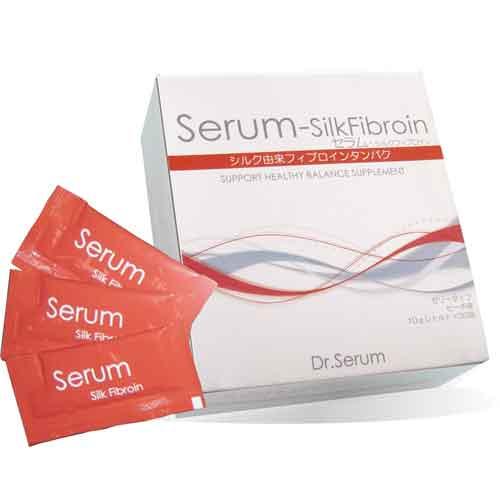 【送料無料】【生活雑貨】Dr.Serum/セラム シルクフィブロイン 10g×30包 <特許取得の食べるシルクダイエット> ダイエット,サプリメント【SN】