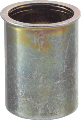トラスコ中山 クリンプナット薄頭スチール 板厚2.5 M10X1.5 500入 TBNF-10M25S-C [A011918]