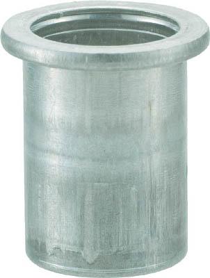トラスコ中山 クリンプナット平頭アルミ 板厚4.0 M10X1.5 500入 TBN-10M40A-C [A011918]