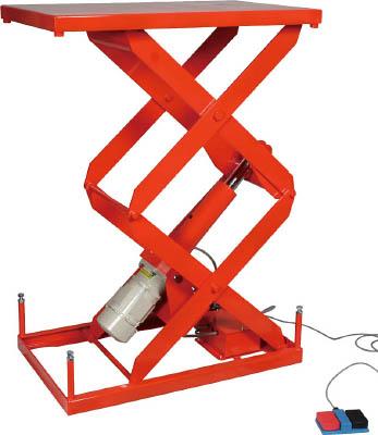 トラスコ中山 【個人宅不可】 スーパーFAリフター200kg 電動式 800X500 高揚程型 HFA-20-0508W-20 [A130606]