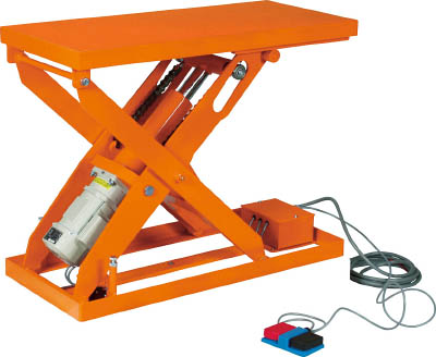 トラスコ中山 【個人宅不可】 スーパーFAリフター500kg 電動式 1200X650 HFA-50-0612 [A130606]