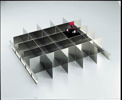 トラスコ中山 【個人宅不可】 耐震薬品庫 SYW型用仕切板セット 1LビンX25本用 SYW-1000SS [A180604]