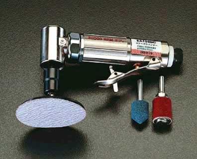 エスコ ESCO 20.000rpm/3mm・6mm エアーグラインダーキット(アングル) EA159DC [I160305]