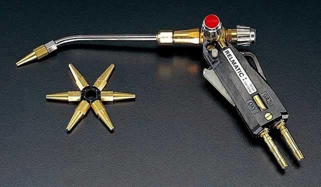 【★店内ポイント2倍!★】エスコ ESCO 290mm ピストル型溶接器(酸素・アセチレン用) EA300-6 [I030106]