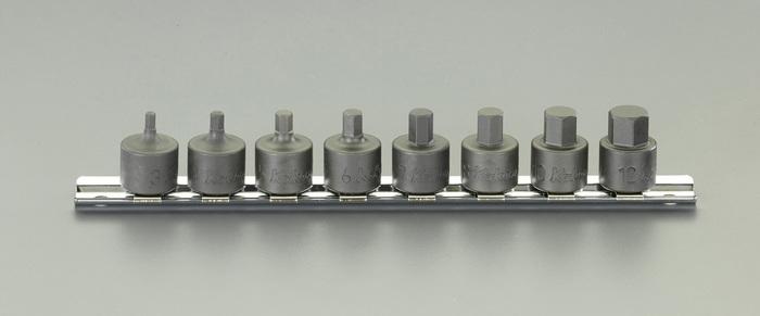 エスコ ESCO 3/8DR/3mm-12mm [INHEX]ビットソケットセット EA618BZ-100 [I080115]
