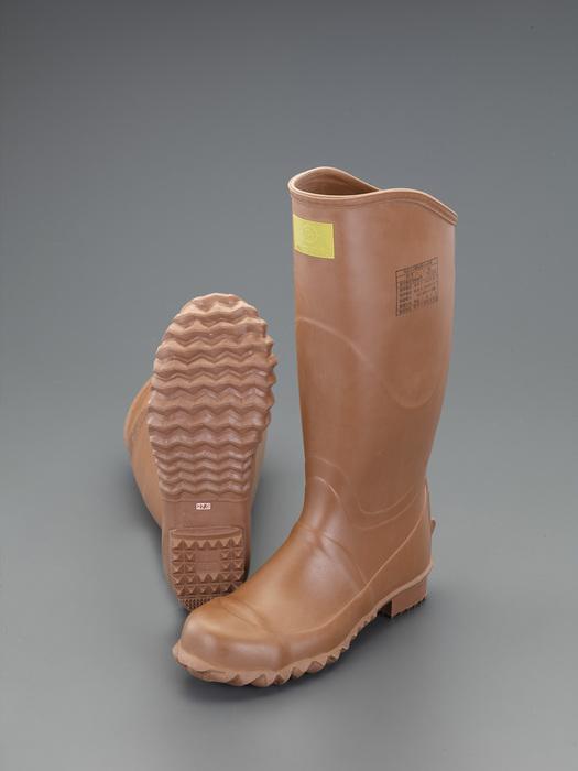 エスコ ESCO 【個人宅不可】 25.5cm 絶縁ゴム長靴(先芯入/7000V) EA640ZP-25.5 [I040715]