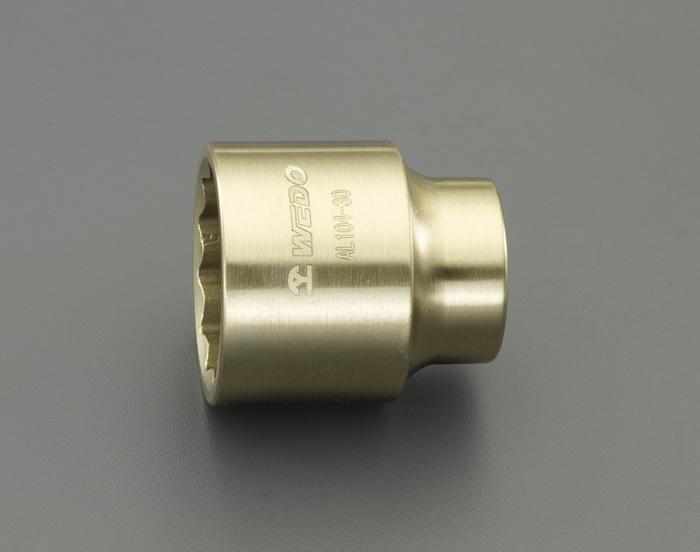 エスコ ESCO 【個人宅不可】 3/4DRx38mm ソケット(ノンスパーキング) EA643FD-38 [I040115]