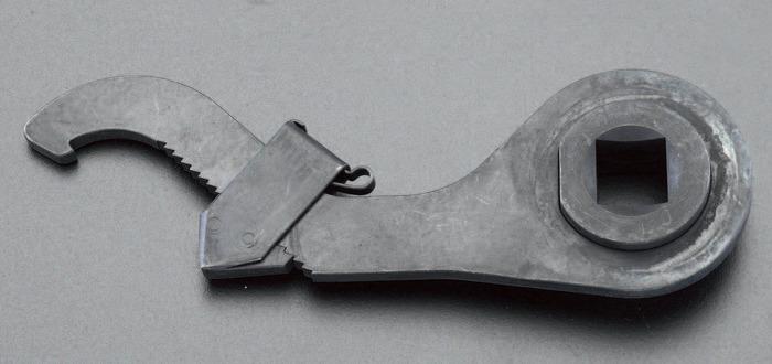 エスコ ESCO 95-165mm 自在フックレンチ(1/2sq差込) EA613XN-13 [I080801]