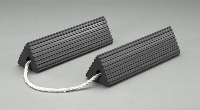 エスコ ESCO 305x127x110mm ホイールチョーク(2個組) EA984SR-2 [I060714]