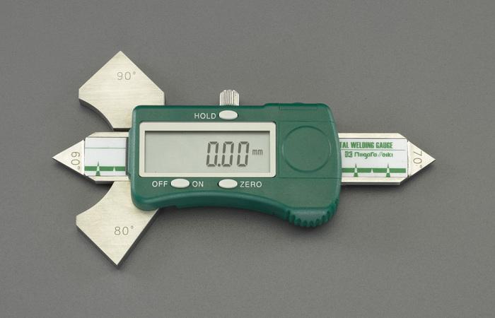 エスコ ESCO 【個人宅不可】 デジタル溶接ゲージ EA719K-40 [I110926]