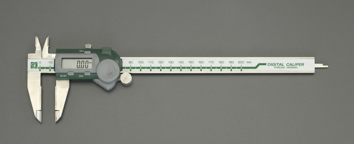 エスコ ESCO 【個人宅不可】 150mm デジタルノギス(超硬付) EA725CJ-15 [I110926]