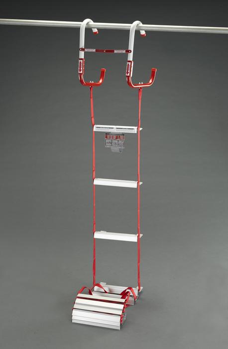 エスコ ESCO 【個人宅不可】 3.96m 避難はしご(折り畳み式) EA904Z-51 [I171301]