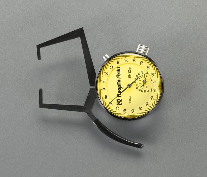 エスコ ESCO 【個人宅不可】 20-45mm ダイヤルキャリパゲージ(外測用) EA725AC-35 [I110926]