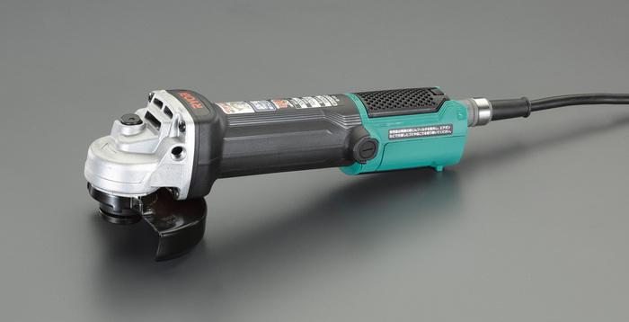 エスコ ESCO 【個人宅不可】 100mm/730W ディスクグラインダー(脱着式・コード付) EA809BR-1 [I140210]