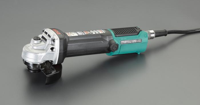 エスコ ESCO 【個人宅不可】 100mm/730W ディスクグラインダー(脱着式・コード付) EA809BR-21 [I140210]