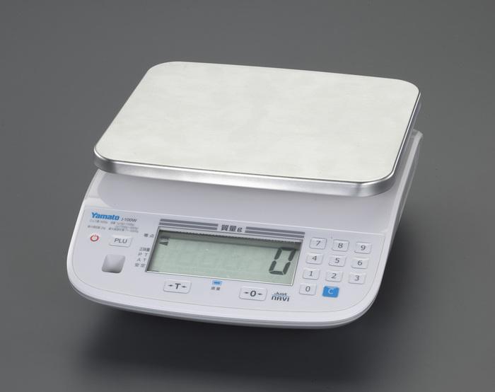 エスコ ESCO 【個人宅不可】 3kg(1-2g) 防水デジタル台はかり EA715AF-11 [I111005]