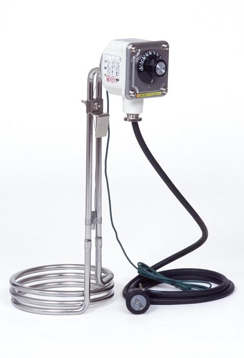 エスコ ESCO 【個人宅不可】 AC100V/ 1kW 油用投込みヒーター(温調付) EA896AH-2 [I140408]