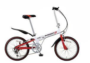 エスコ ESCO 【個人宅不可】 20インチ 折畳み式自転車 EA986Y-35A [I270302]