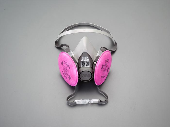 画像は代表画像です ご購入時は商品説明等ご確認ください エスコ ESCO 個人宅不可 ハイクオリティ EA800NF-5 お気に入 I260128 RL3 全面形 防塵マスク