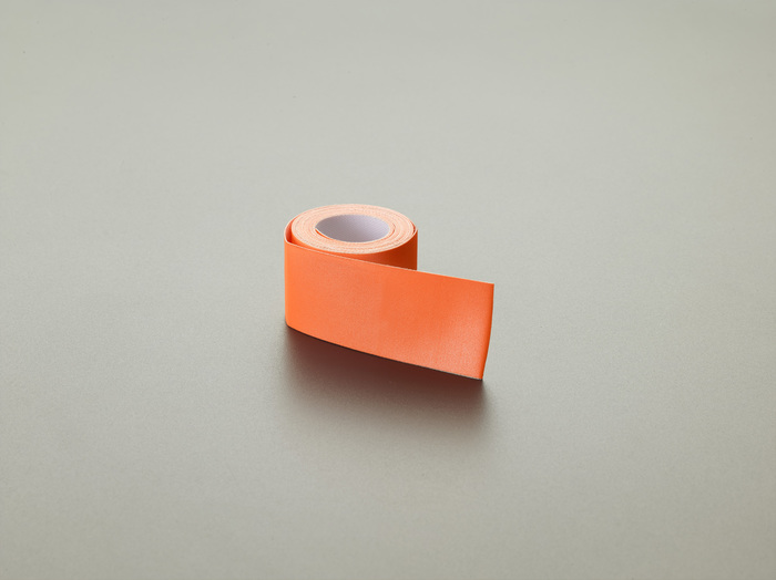 エスコ ESCO 50mmx10m/0.4mm 反射シート(蛍光オレンジ) EA911AR-58 [I240308]
