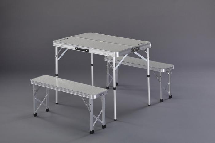 エスコ ESCO 【個人宅不可】 900x620x700mm/380mm テーブル・チェアーセット EA913YA-52 [I270302]