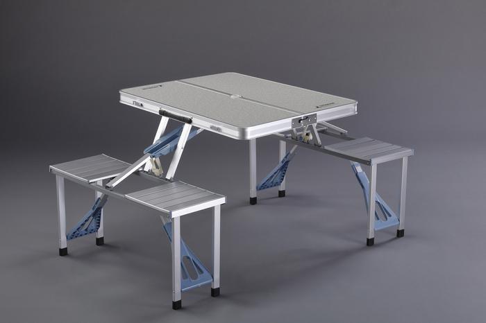 エスコ ESCO 【個人宅不可】 1370x880x660mm テーブル・チェアーセット EA913YA-55 [I270302]