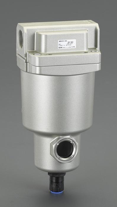 """エスコ ESCO Rc 1/4""""・ 500L/min マイクロミストセパレーター EA153SS-22 [I160610]"""