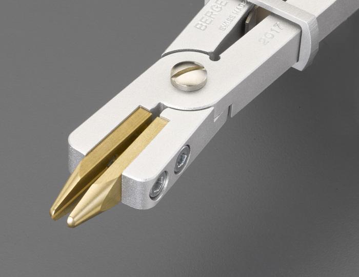 エスコ ESCO 【個人宅不可】 125mm 精密プライヤー(真鍮製) EA537HD-3 [I090101]